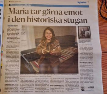 Ludvikatidningen Maria Gamla stugan