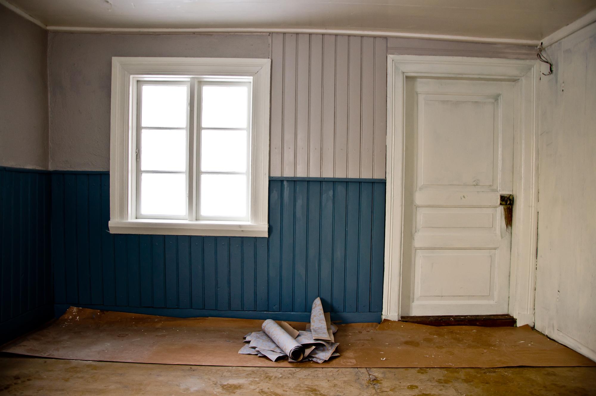 Tapeter och måleri på plats « gamla stugan