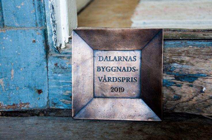 Dalarnas Byggnadsvårdpris 2019 Maria Norgren Dan Andersson