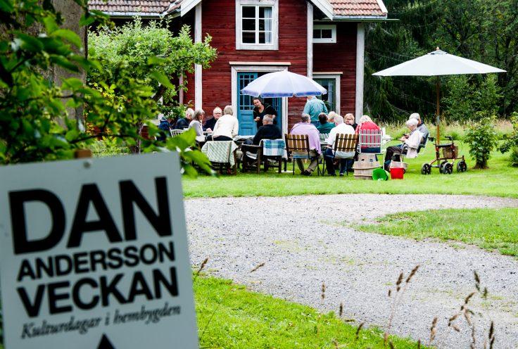 Dan Anderssonveckan 2019 gamla Stugan